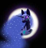 Mare in the Moon by Darkonix