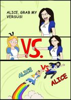 Grab My... Alice vs Alice - Fan Art by WembleyAraujo