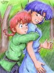 Lost Time - Um... Whoops +rain by irishgirl982