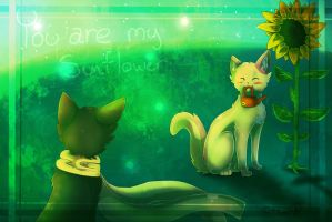 CE: ~You ARE my SUNFLOWER~ by JazuNeon