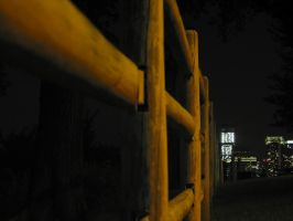 Fence to Jersey City by zimxx