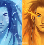 Ice and Fire by Noiry