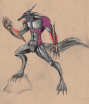 Werewolf - Bloodstained Monster idea by aznswordmaster1