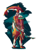 The legend of Zelda -Breath of the Wild- Sidon by TheArtOfVero