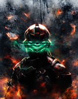 Dead Space - Isaac Clarke by p1xer