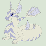 Dragon Lineart 15~Water Dragon 1~ by Xbox-DS-Gameboy
