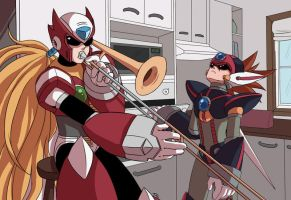 When X isn't home by Rayum