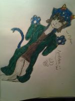 Home Stuck Fan Art: Nepeta nyan~ by digitalflowergirl