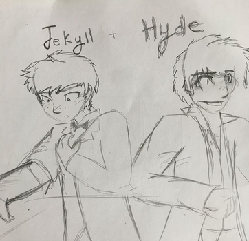 Jekyll and Hyde by monogwings