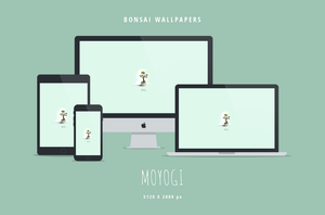 Bonsai Wallpapers: Moyogi - 5K by dpcdpc11
