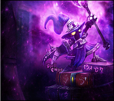 League of Legends - Veigar - Spell Caster Smudge by Chanse122
