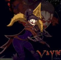 Vayne by slinkyonion