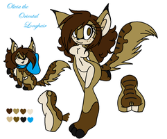 Olivia the Oriental Longhair by l-OliWood-l