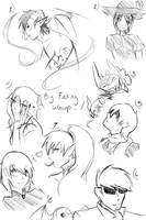Hiems quick scribbles by Nykraly