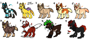Unsold Adopts (points only) by FRUlT