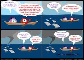 SC210 - Most Dangerous Game 10 by simpleCOMICS