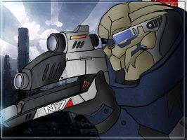 Garrus Color Comission by Schneider368