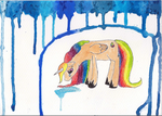 Sad RainbowDrop by capricorns