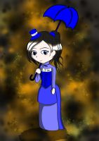Victorian tardis chibi by geek-with-a-pencil