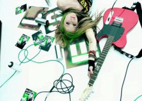Avril, Smile gif 05 by nishux