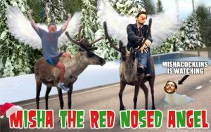 Misha The Red Nosed Angel 2 by SithGirl665