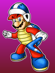 Boomerang Mario by MushroomWorldDrawer