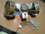 3D Maneuver gear (back and handle) by menteausente