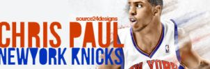 Chris Paul Knicks Sig by IshaanMishra