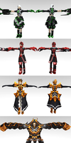 [Updated] BRS The game Pack 1 with correct T-pose by ChocoKobato