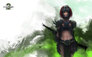 Guild Wars 2 Wallpaper by GenjiLim