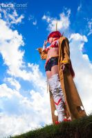 Yoko Bounty Hunter from Gurren Lagann by LucaTonet