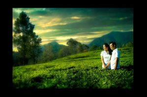 prewedding by githanst