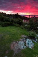 Sunrise in Trondheim by Fishermang