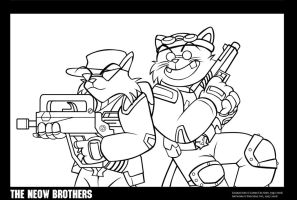 Before SWAT Kats There was... by Poila-Invictiwerks