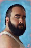 Portrait of Matt B. by artbearny
