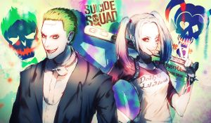 Joker and Harley Quinn (Suicide Squad) by MAR5HMA110W