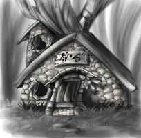 Goblins house by Key-Feathers