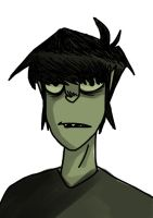 Green Murdoc by Shinohida