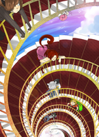 Spiral Stair by CookieHana
