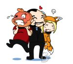 Totalbiscuit Loves Jesse and Dodger by Chibi-Warmonger
