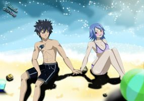 Gray and Juvia 'Ice sea' by Isayuuki