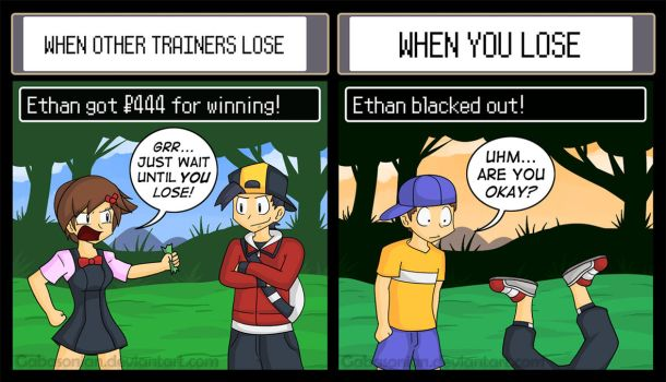 Winning vs. Losing by Gabasonian