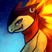 Alex the Typhlosion Icon by Haychel