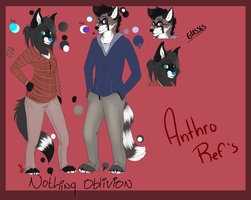 Nothing and Oblivion Ref Sheets 2012 by Capntoria
