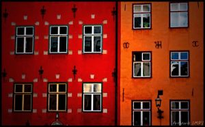 Stockholm houses by ArtIsterik