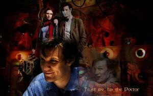 The Eleventh Doctor by Nero749