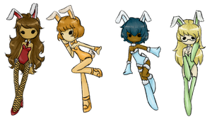 Playboy bunny adopts [CLOSED] by Explodifirer