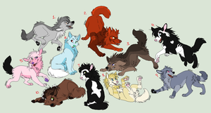 Enter to Adopt Wolves (FREE) (WINNERS!) by DetritusDroid