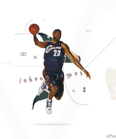 lebron james by epro-creative