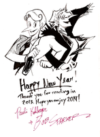 Happy New Year! 2014 by madamluna